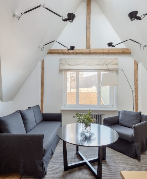 Studio Apartment — Twin Sofa 602